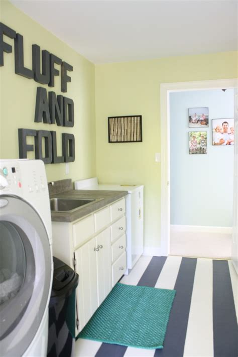 50s Kitchen Cabinet laundry room favorite paint colors blog