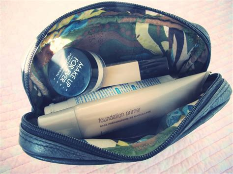 D Eyeko D Eyeko Basic Collection inside my makeup bag pebbles
