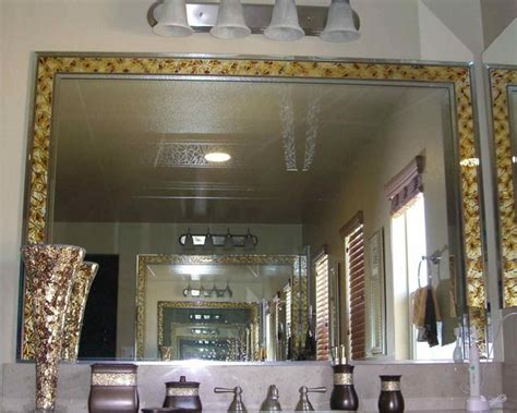 mirror borders bathroom fragments mirror border decorative mirror with etched