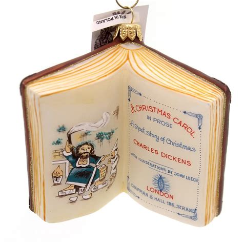 10 book ornaments to go on your tree amreading