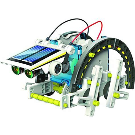Solar Kit Robot Solar Educational 3 In 1 Robot Rakit the solar robot buddy 14 in 1 solar robot educational