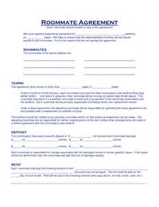roommate lease template image gallery roommate agreement