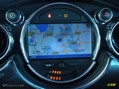 Mini Cooper Navigation by 2008 Mini Cooper S Convertible Navigation Photos