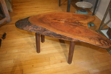 tree trunk coffee table oak great idea tree coma frique