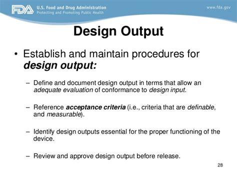 design review definition fda design control fda requirements