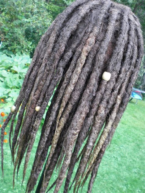 real dreadlock wigs custom full dread wig realistic hand crocheted synthetic
