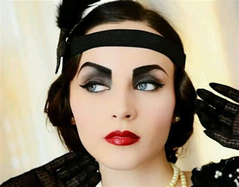 the 25 best ideas about 1920s makeup on pinterest makeup tips and trends through the ages 1920 s makeup