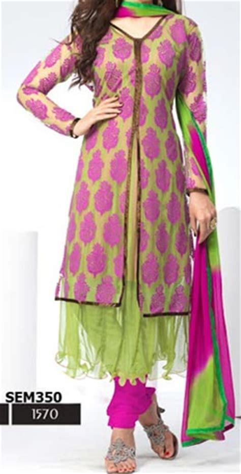 Jaket New Fashion Black Green Orange White Stylish New Impor dazzling open anarkali jacket suits shirts salwar