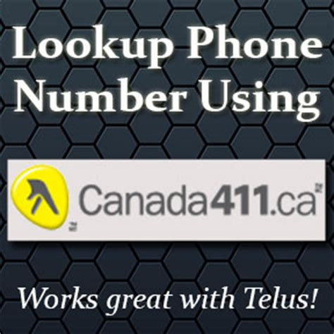 Canada411 Number Lookup Lookup A Phone Number Using Canada411 Best Free Phone Number Lookup