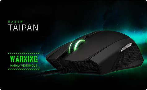 Mouse Razer Taipan razer taipan gaming mouse ambidextrous mouse for gaming