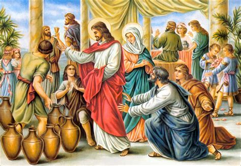 Wedding Feast At Cana Luke by S Quest For Jesus