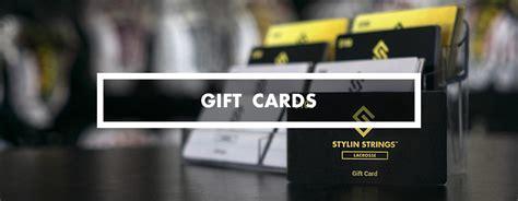 Lacrosse Gift Cards - stylinstrings lacrosse gift cards the perfect gift stylin strings