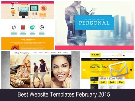 Best Website Templates February 2015 Entheos Personal Concierge Website Templates