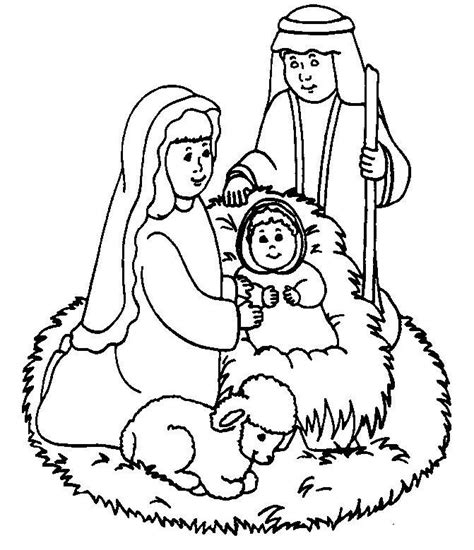 coloring pages jesus birth story birth of jesus coloring pages az coloring pages
