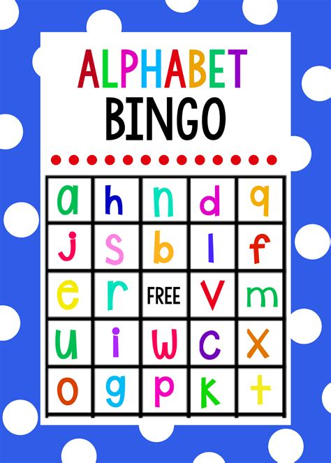 printable games with the alphabet lowercase alphabet bingo game alphabet bingo bingo