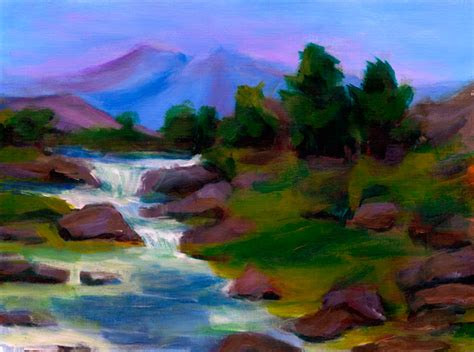 acrylic painting scenery the gallery for gt landscape acrylic painting