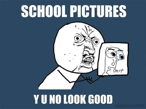No School Meme - shella putriana y u no meme