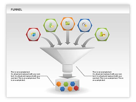 powerpoint funnel template 17 best images of funnel smartart graphic free funnel