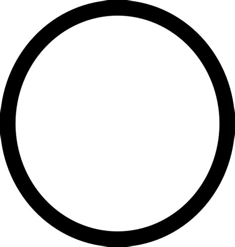 Circle Black Outline by Circle Clip At Clker Vector Clip Royalty Free Domain