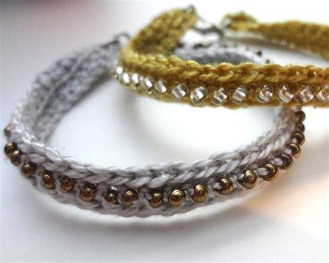 crochet seed bead bracelet 183 how to braid a braided bead