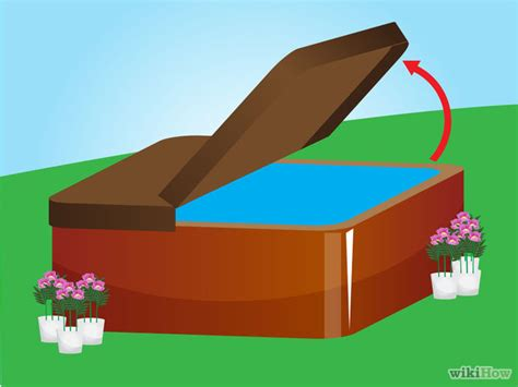 make your bathtub a jacuzzi how to make your hot tub cover last 6 steps with pictures