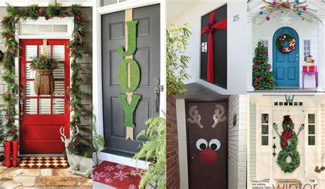 decorar puertas de navidad inspiraci 243 n para decorar puertas de navidad 20 fotos