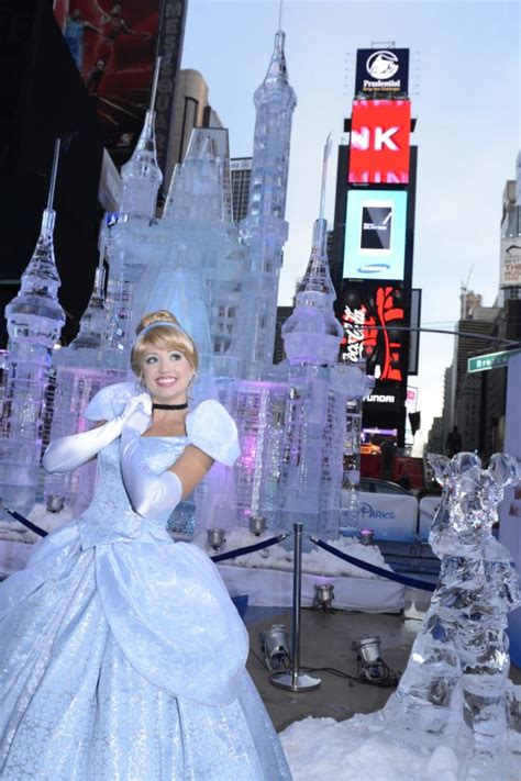 film cinderella in new york times square disney ice castle fun facts disney every day