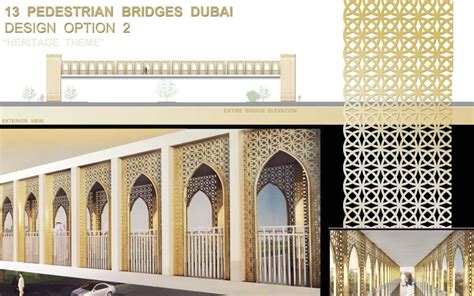 pattern maker dubai work on 13 new foot bridges in dubai begins emirates 24 7