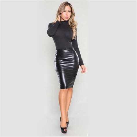 tight leather skirts images