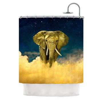 rococcola happy elephant shower curtain rococcola happy elephant shower curtain from urban outfitters
