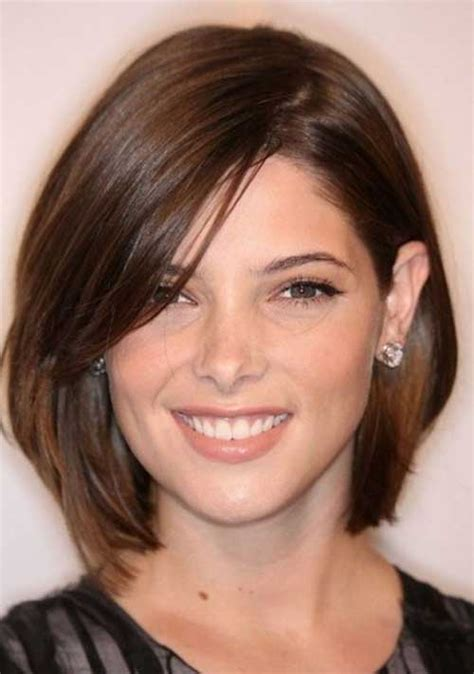 best bob for thinning hair round faces 10 best short haircuts for round faces short hairstyles