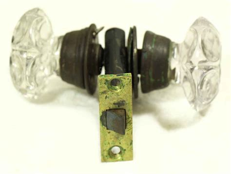 Glass Door Knob Sets Glass Door Knob Lock Set Olde Things