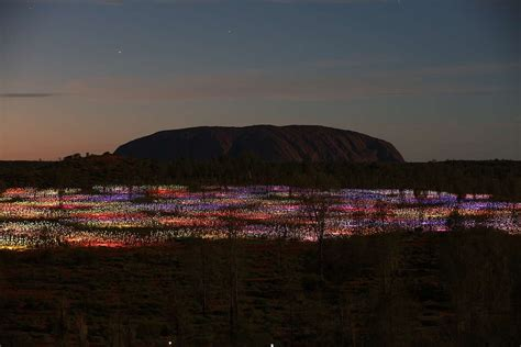 a at field of light uluru field of light pass distant journeys