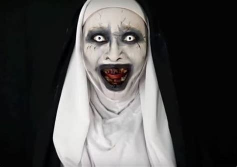 tutorial makeup hantu video heboh tutorial make up valak hantu the conjuring 2