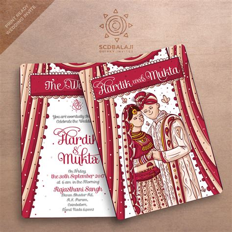 Wedding Invitation 12 X Jpegs by Atma Studios Branding Studio Illustration House