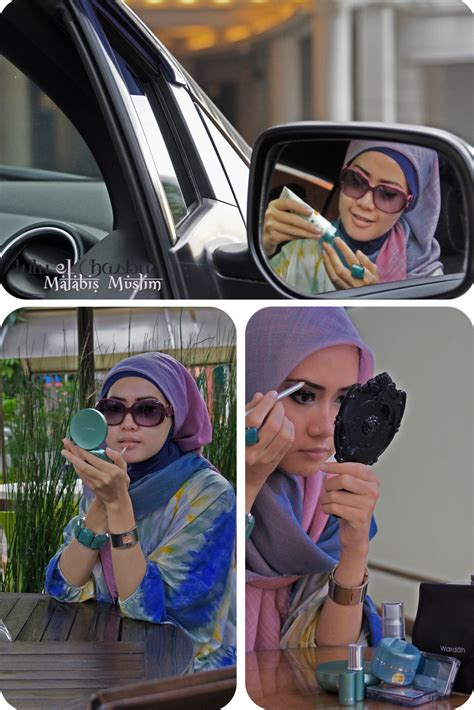 Make Up Wardah Di Bandung lulu elhasbu wardah and model