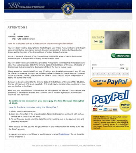 android virus scams remove fbi paypal android virus to eliminate the cyber scam virus vilmatech