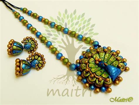 Handmade Terracotta Jewellery - handmade terracotta jewelry terracotta set tsb400