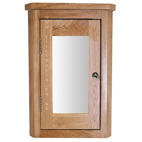 oak cabinets bathroom oak wall mounted corner 60cm bathroom mirror cabinet