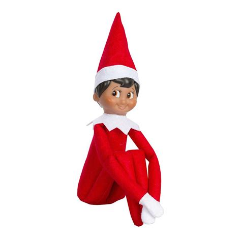 Elf On Shelf Boy | the elf on the shelf boy with brown eyes skin christmas