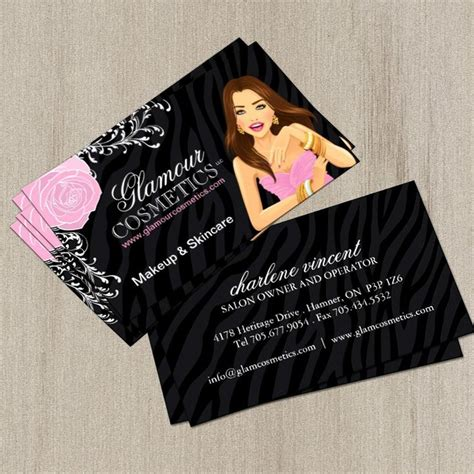 cosmetic business card templates free 1000 images about makeup artist business cards on