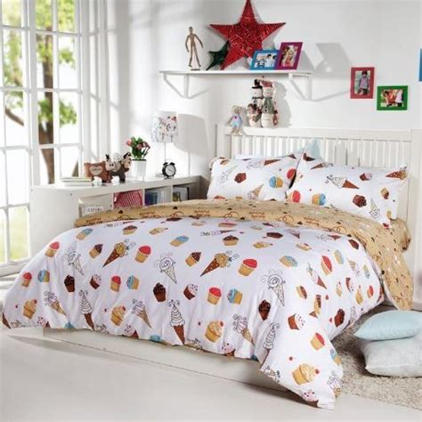 little girls bedding sets diaidi kids cartoon bedding set unique bedding dessert