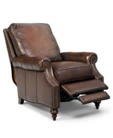 Leather Recliner Chairs On Sale by Kennedy Leather Recliner Furniture Macy S