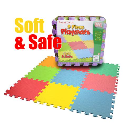 Soft Floor Mats For Babies Foam Interlocking Play Mat Soft Playmat Set Tiles