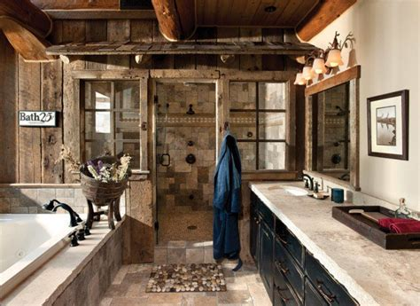 log home bathrooms 15 refined rustic bathroom designs for your rustic home