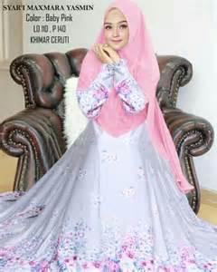 Syari Yasmin syari maxmara yasmin motif bunga butik jingga