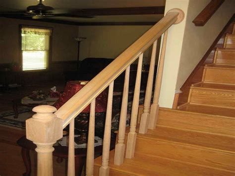 how to install a banister how to install handrail on stairs 2015 personal blog