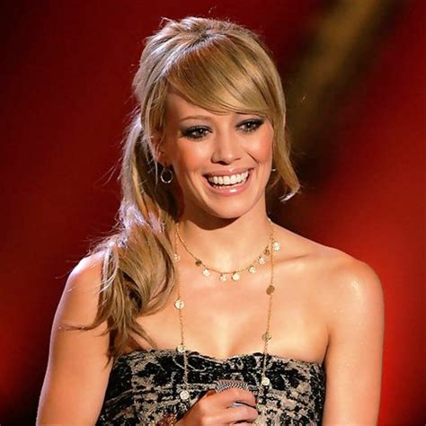 Hilary Duff Hairstyles by Hilary Duff Hairstyles With Bangs Hairstyles For