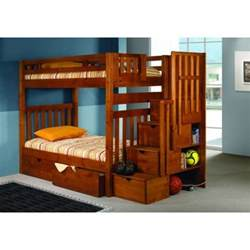 bunk bed with stairs bunk beds with stairs