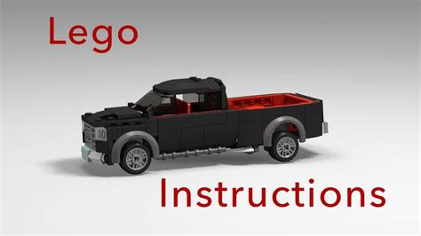build dodge ram truck how to build a dodge ram truck with lego tutorial